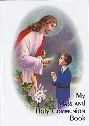 Boy First Holy Communion Book - Click Image to Close